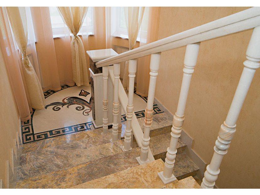 Лестницы и ступени из мрамора - 4