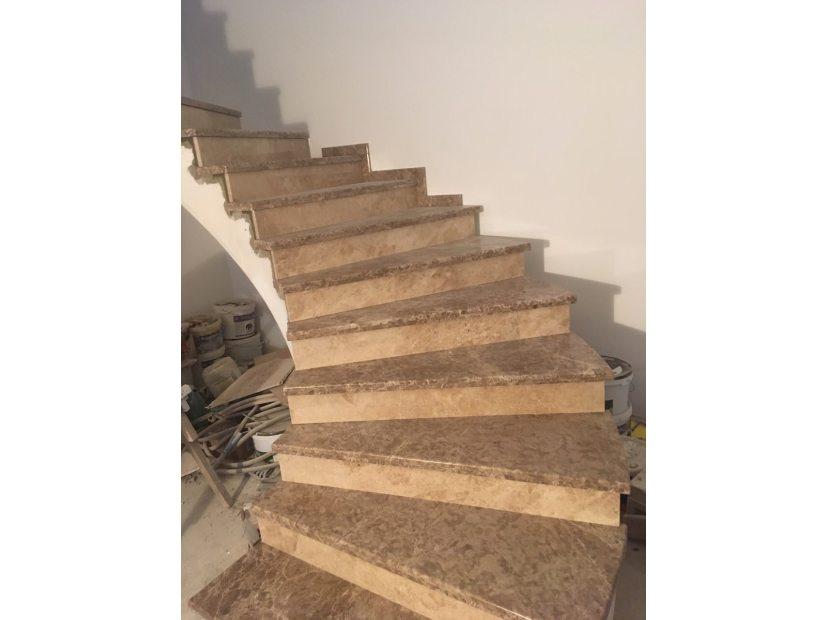 Лестницы и ступени из мрамора - 8