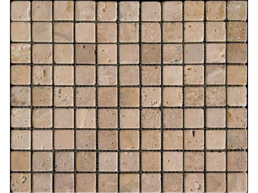 Мозаика из травертина - 1
