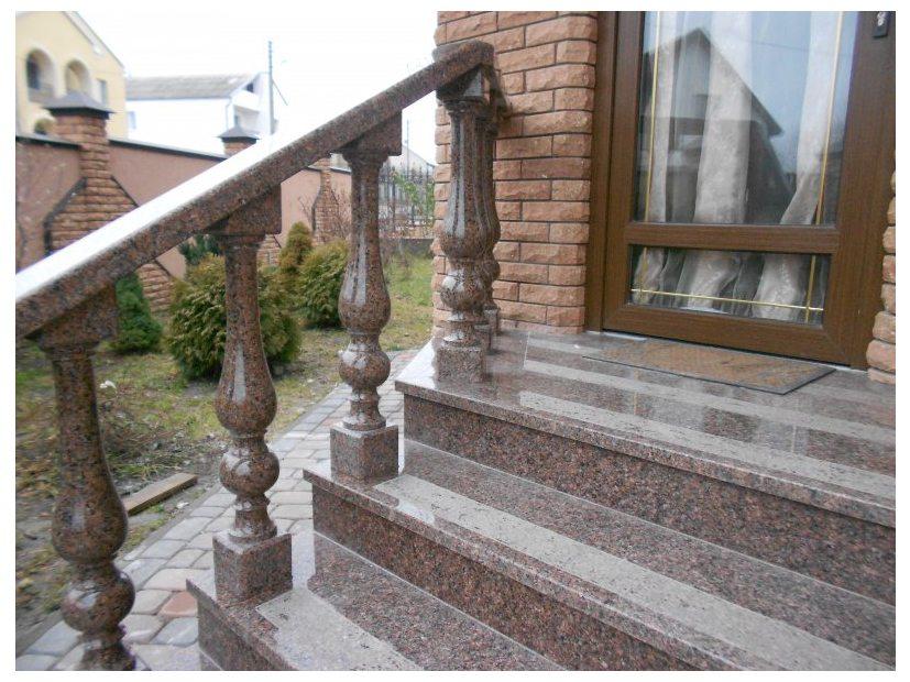 Лестницы и ступени из гранита - 2