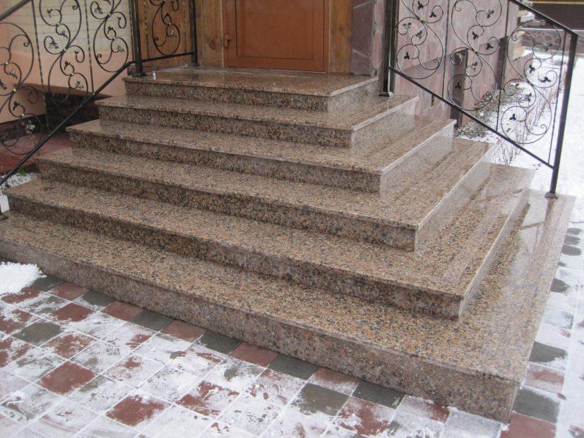 Лестницы и ступени из гранита - 6