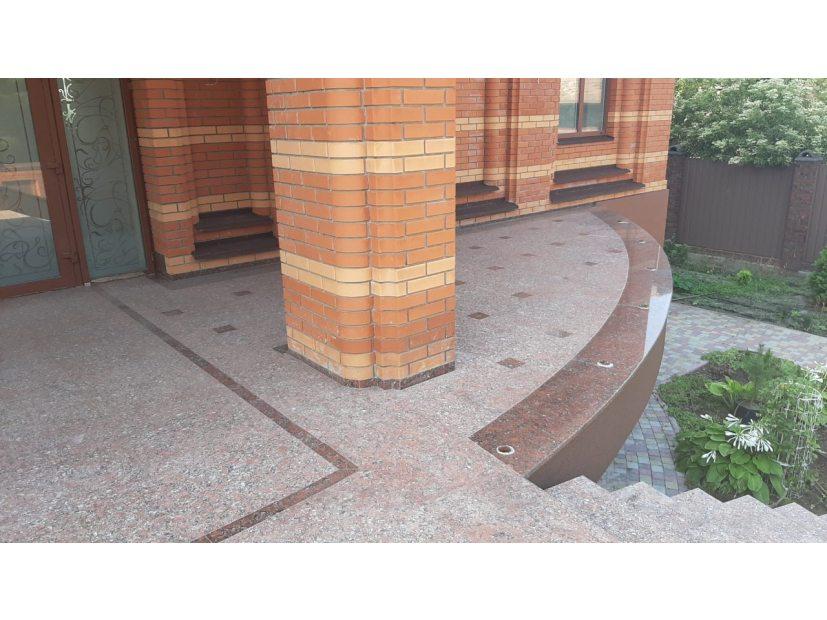 Лестницы и ступени из гранита - 16