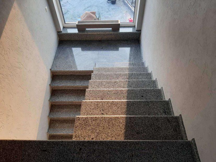 Лестницы и ступени из гранита - 28