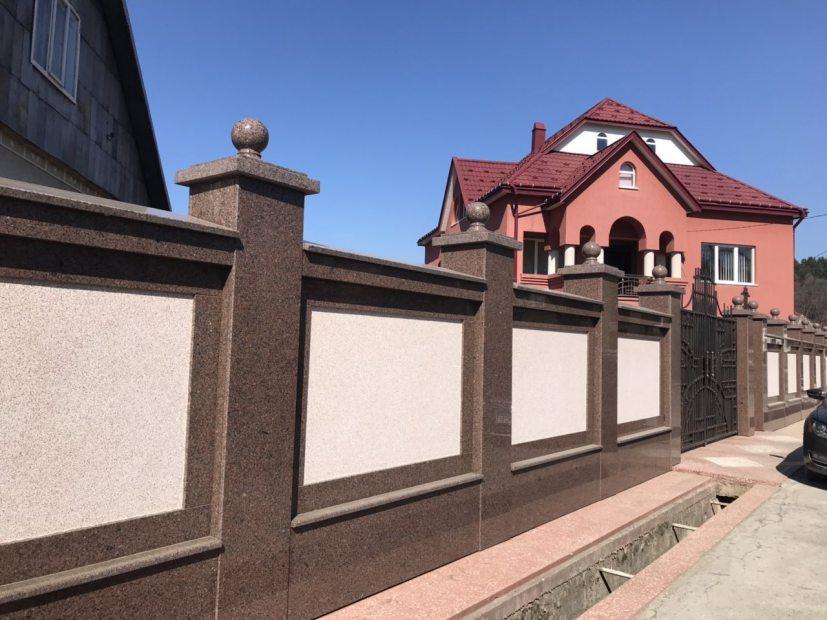 Фасади з граніту - 9