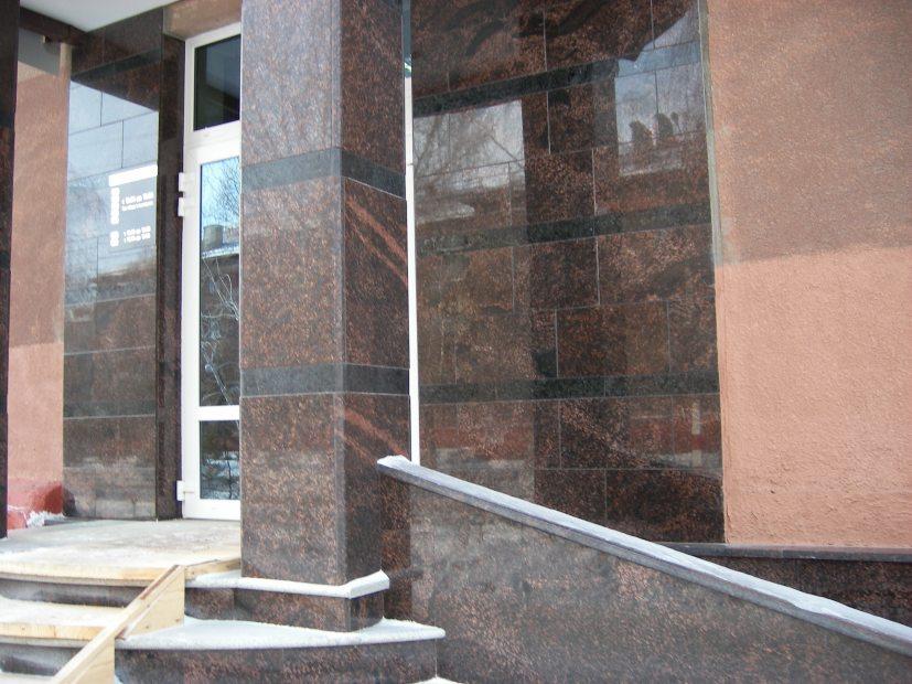 Фасади з граніту - 1