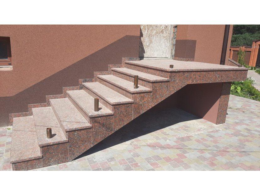 Лестницы и ступени из гранита - 20